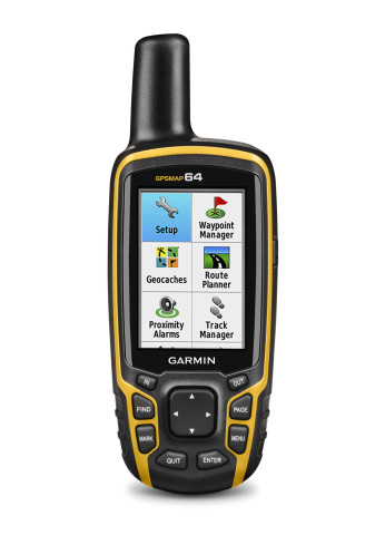 Garmin today announced the GPSMAP 64 series of rugged outdoor handhelds. The GPSMAP 64 series brings ...