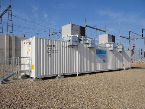 A123 Energy Solutions Long Duration Grid Battery System (GBS-LD) (Photo: Business Wire)
