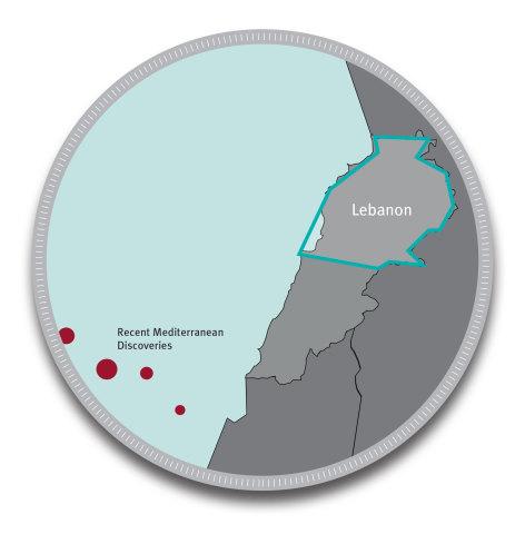 Area polygon of NEOS Lebanon neoBASIN program. (Graphic: Business Wire)