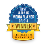 NanoTech Entertainment's Nuvola NP-1 Wins Ultra HDTV Magazine's 2014 Best of CES Ultra HD Media Player Award (Graphic: Business Wire)