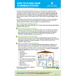 How to Flush Your Plumbing