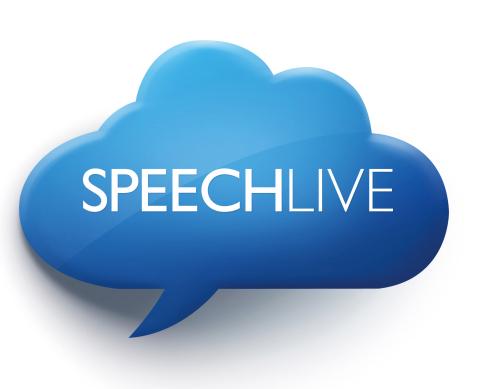 La toute nouvelle solution « cloud » de dictée Philips SpeechLive est maintenant disponible ! (Photo ...