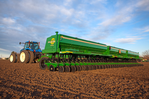 Great Plains 3S-5000 equipment. Designed using PTC software. (Photo: Business Wire)