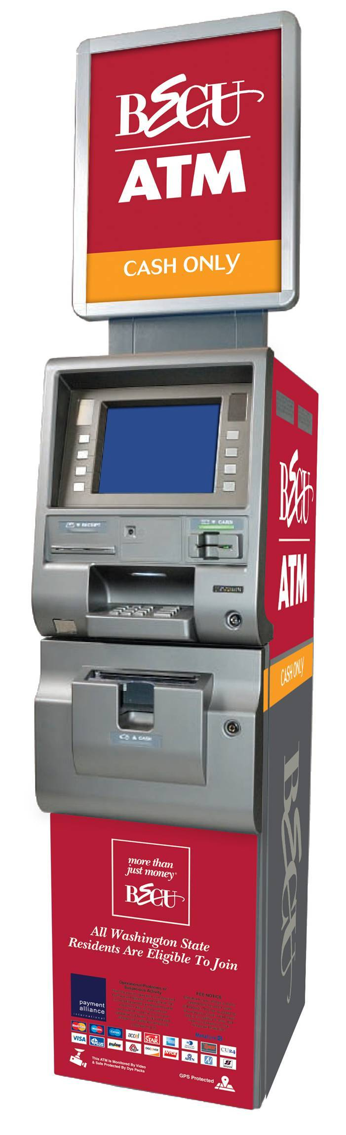 BECU-Branded ATM at Rite Aid Stores (Photo: Business Wire)