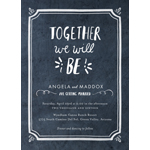 """Chalked Together"" wedding invitation designed by BHLDN for Wedding Paper Divas (Graphic: Business Wire)"