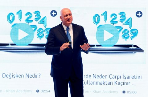 Turkcell's CEO Sureyya Ciliv introduced Turkcell Academy, the ambitious digital education project of ...