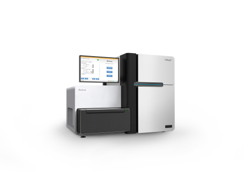The HiSeq X™ Ten is composed of 10 HiSeq X Systems. (Photo: Business Wire)