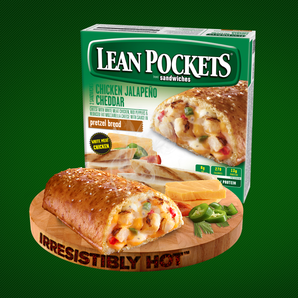 LEAN POCKETS® brand sandwiches (Photo: Business Wire)