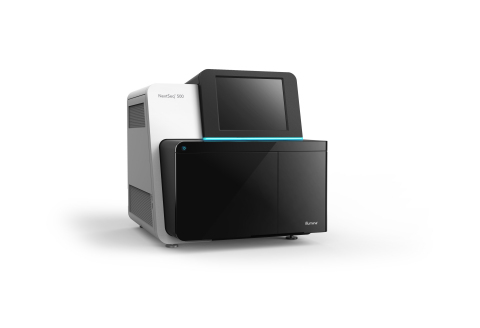 The NextSeq™ 500 System, capable of sequencing a whole human genome in a single run, delivers the po ...