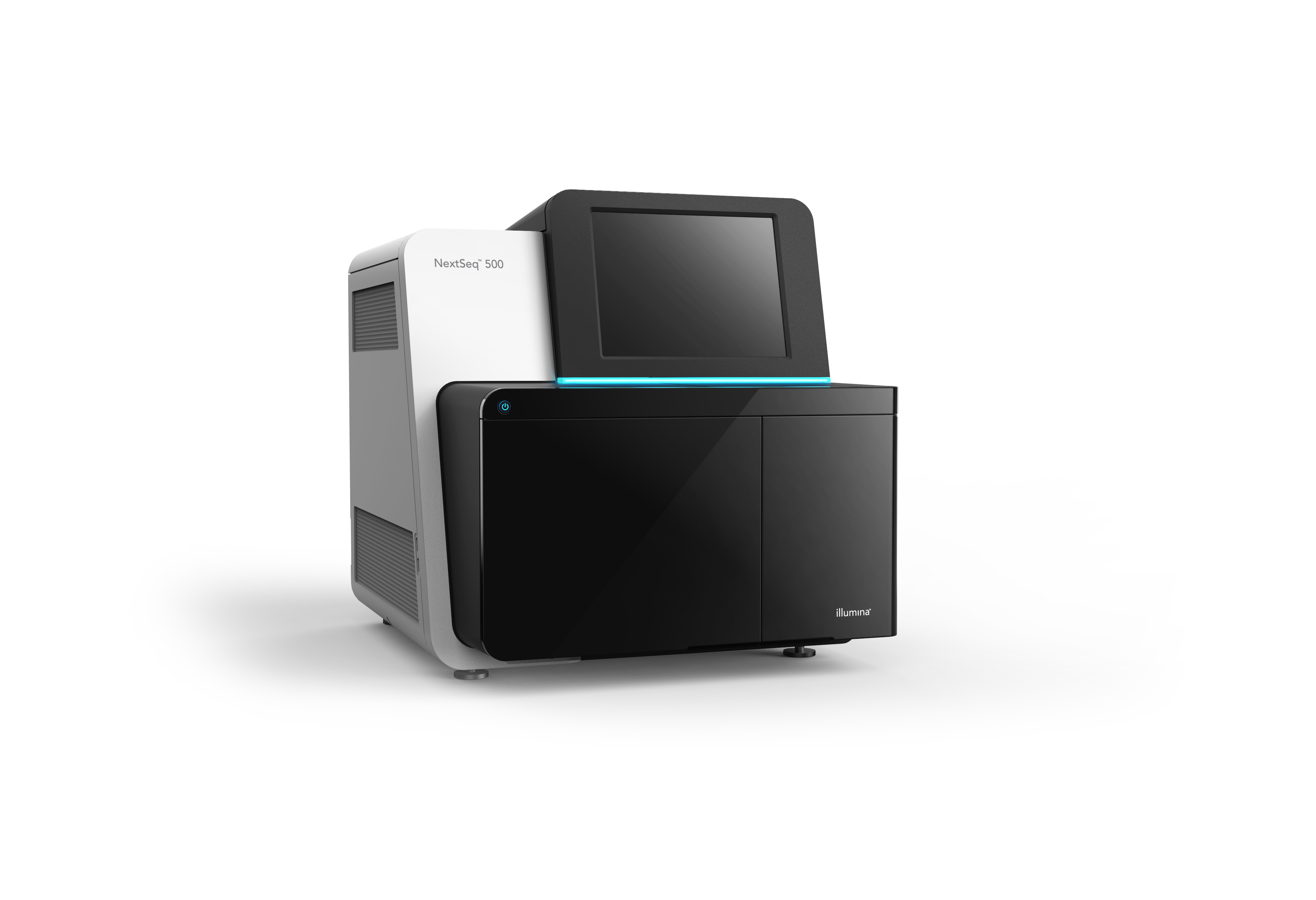 The NextSeq™ 500 System, capable of sequencing a whole human genome in a single run, delivers the power of high-throughput sequencing with the simplicity of a desktop sequencer, enabling everyday genomics. (Photo: Business Wire)