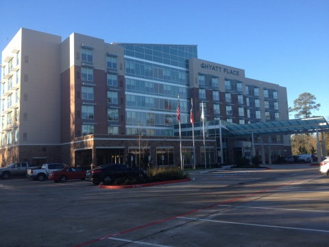 The third Hyatt Place hotel in the Houston area is now open in The Woodlands. (Photo: Business Wire)