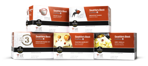 Coffee lovers now have another way to enjoy Seattle's Best Coffee at home - Seattle's Best Coffee is serving up the popular single-cup K-Cup(R) packs. (Photo: Business Wire)
