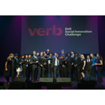 Social entrepreneurs celebrating at the Verb Awards (Photo: Business Wire)