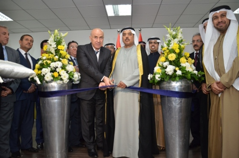 chairman and governor of Erbil during the office inauguration. UAE consul general is to the right of the image (Photo: Business Wire)