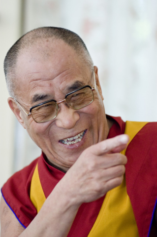 His Holiness the Dalai Lama will visit Santa Clara University Feb. 24. SCU will livestream the event at scu.edu/dalailama. (Photo: Business Wire)