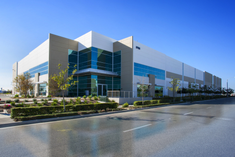 United Pacific's building in Pacific Pointe at Douglas Park in Long Beach was designed to LEED Silver specifications. (Photo: Business Wire)