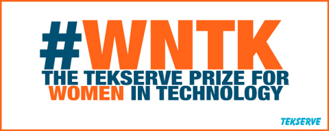 #WNTK, The Tekserve Prize for Women in Technology (Graphic: Business Wire)