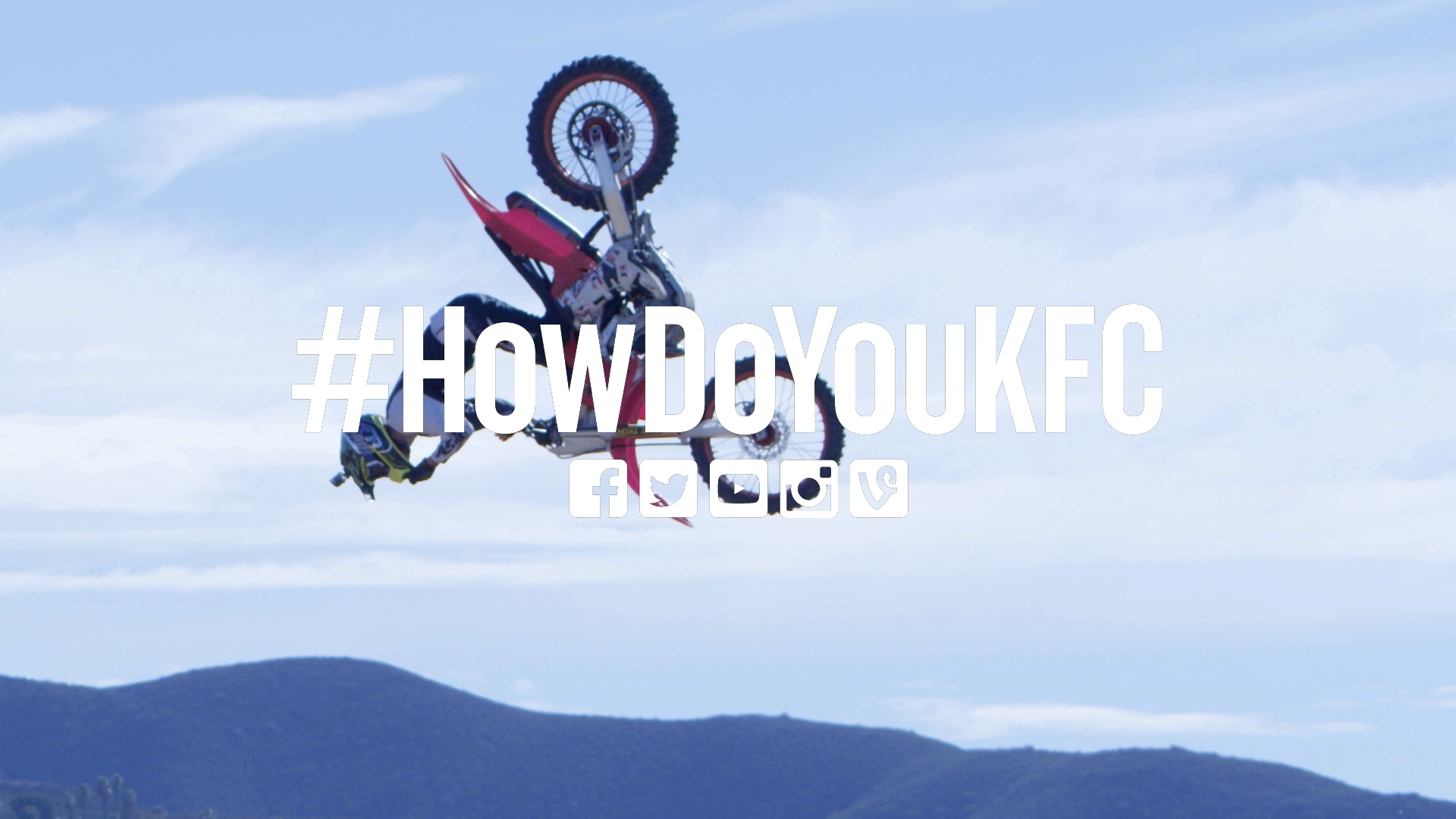 As part of the #HowDoYouKFC movement launched earlier this month, KFC developed a film featuring Hudson doing the world's first backflip while eating chicken. The video will now become a television ad. (Photo: Business Wire)