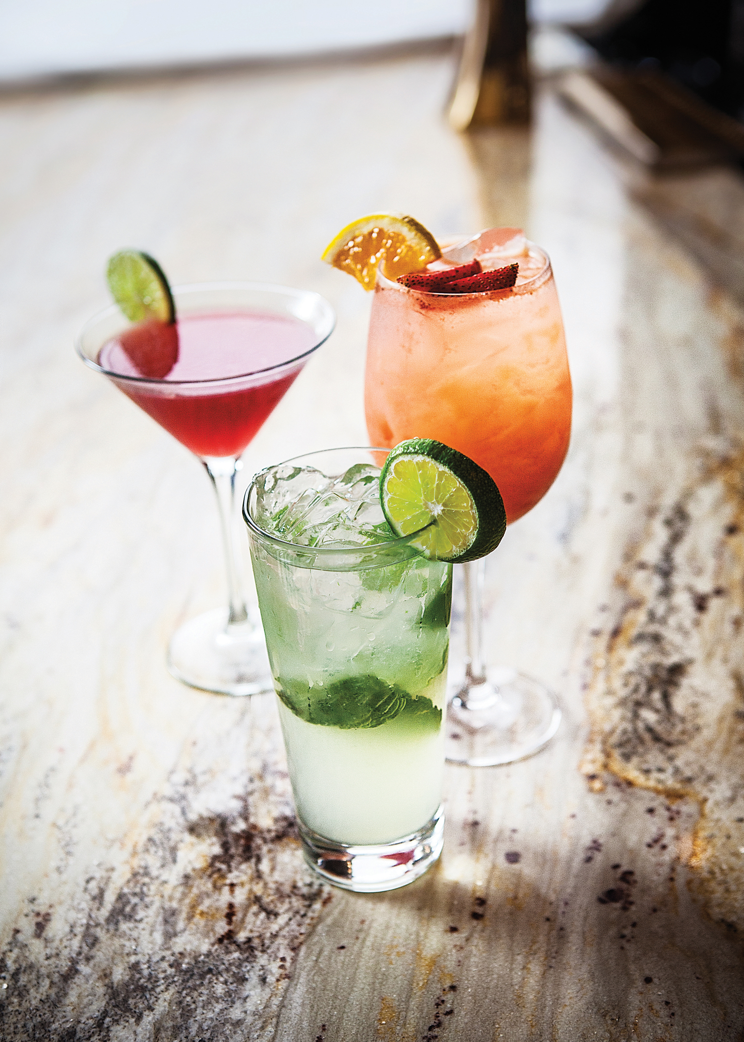During BRAVO! Hours, guests may enjoy 13 beverage options, including White Peach Sangria, Peroni beer, Black Raspberry Cosmo, four Porta Palo wine selections and Italian Margarita for $4–$6 per glass. (Photo: Business Wire)