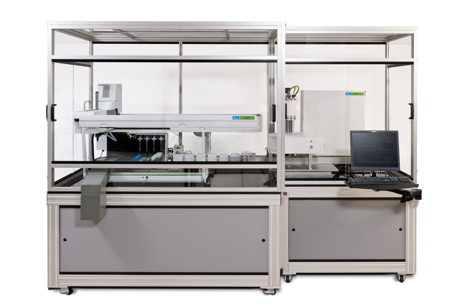 PerkinElmer introduces the JANUS(R) chemagic automated nucleic acid workstation that offers high throughput DNA and RNA extraction with four times the yield and twice the throughput of alternate technologies. A fully integrated system, this workstation combines best-in-class magnetic bead nucleic acid isolation technology with a fully-supported automated liquid handler to rapidly accelerate the extraction process.