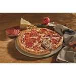Hunt Brothers Pizza's brand new limited time offer, Italian Meats, includes original rising fresh crust, topped with a signature sauce and layered with slices of Italian-style ham, salami, big pepperoni and 100 percent mozzarella cheese. (Photo: Business Wire)