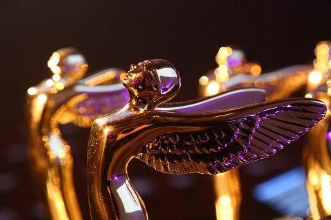 The Society's gold Lumiere statuettes are presented to Hollywood's top film makers including James Cameron, Martin Scorsese, and Ang Lee for outstanding use of 3D art and technology. (Photo: Business Wire)