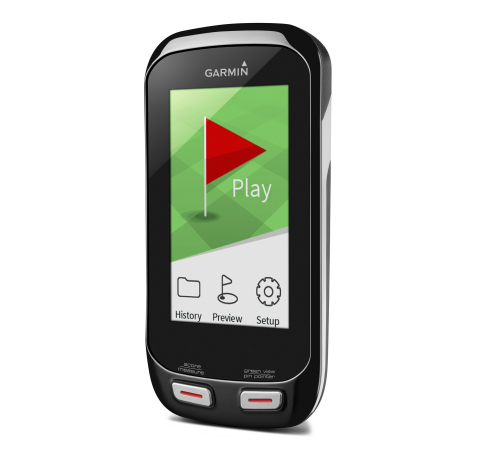 Today Garmin introduced the Approach G7 and G8 golf handhelds, featuring color touchscreens, wireless connectivity and the new PlaysLike Distance measurement feature. (Photo: Business Wire)