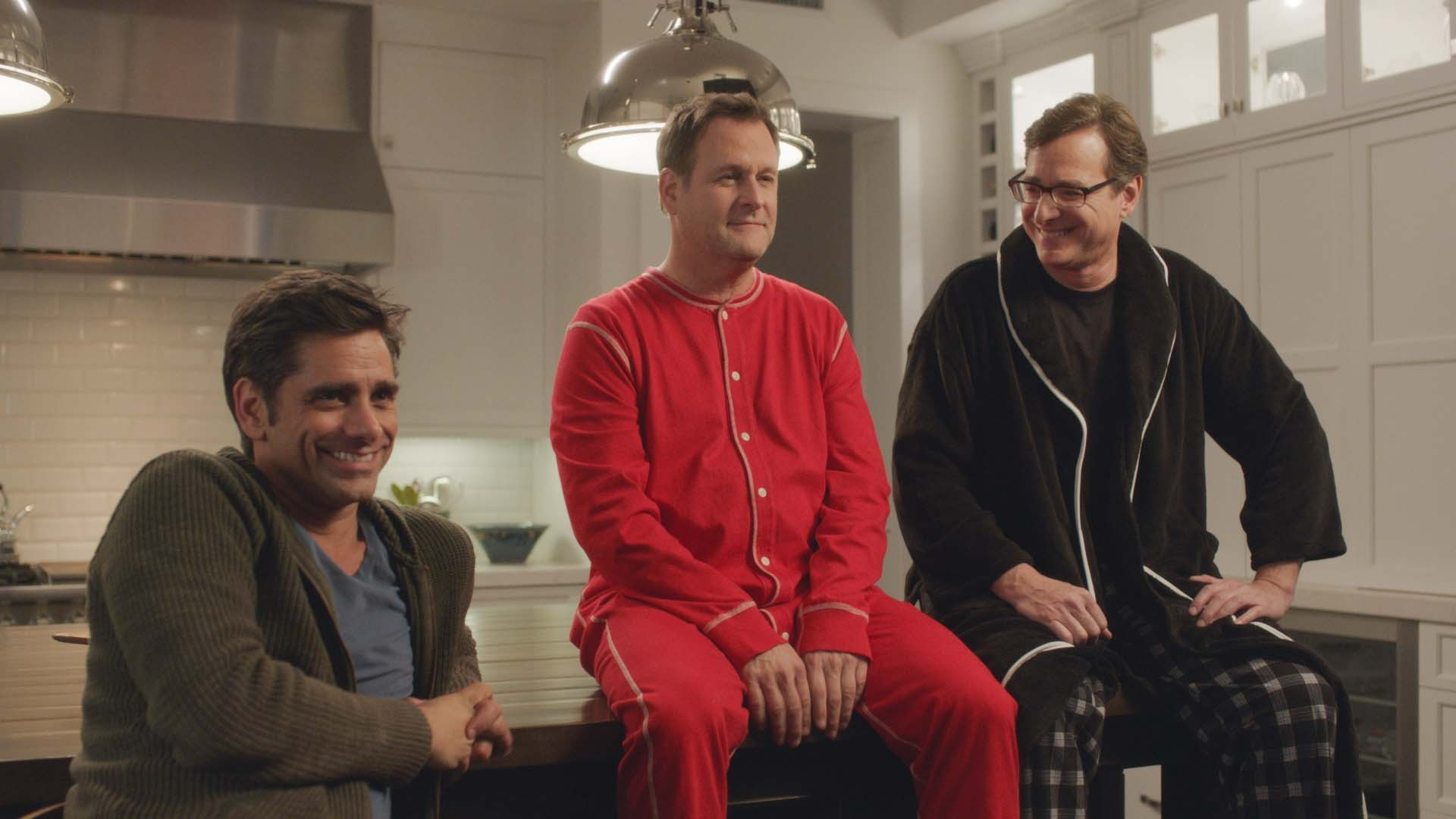 Saget, Coulier and Stamos back in action. Photo: Business Wire