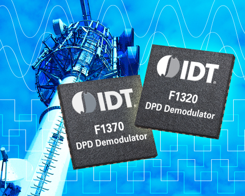 IDT Expands Industry-leading RF Signal Chain Portfolio with High-performance DPD Demodulator for Wireless Base Stations (Graphic: Business Wire)