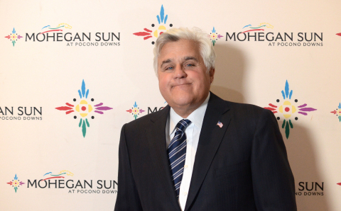 Jay Leno Headlines Grand Opening Celebrations at Mohegan Sun at Pocono Downs (Photo: Business Wire)