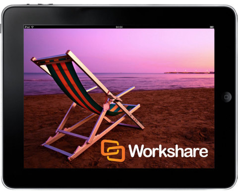 Workshare Raises the Bar for Mobile Collaboration Apps (Photo: Business Wire)