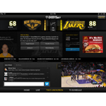 The Time Warner Cable SportsNet Second Screen App Experience; credit: Time Warner Cable Sports
