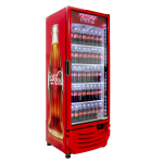 One of the HFC-free cooler models Coca-Cola is using for new equipment placements globally. (Photo: Business Wire)