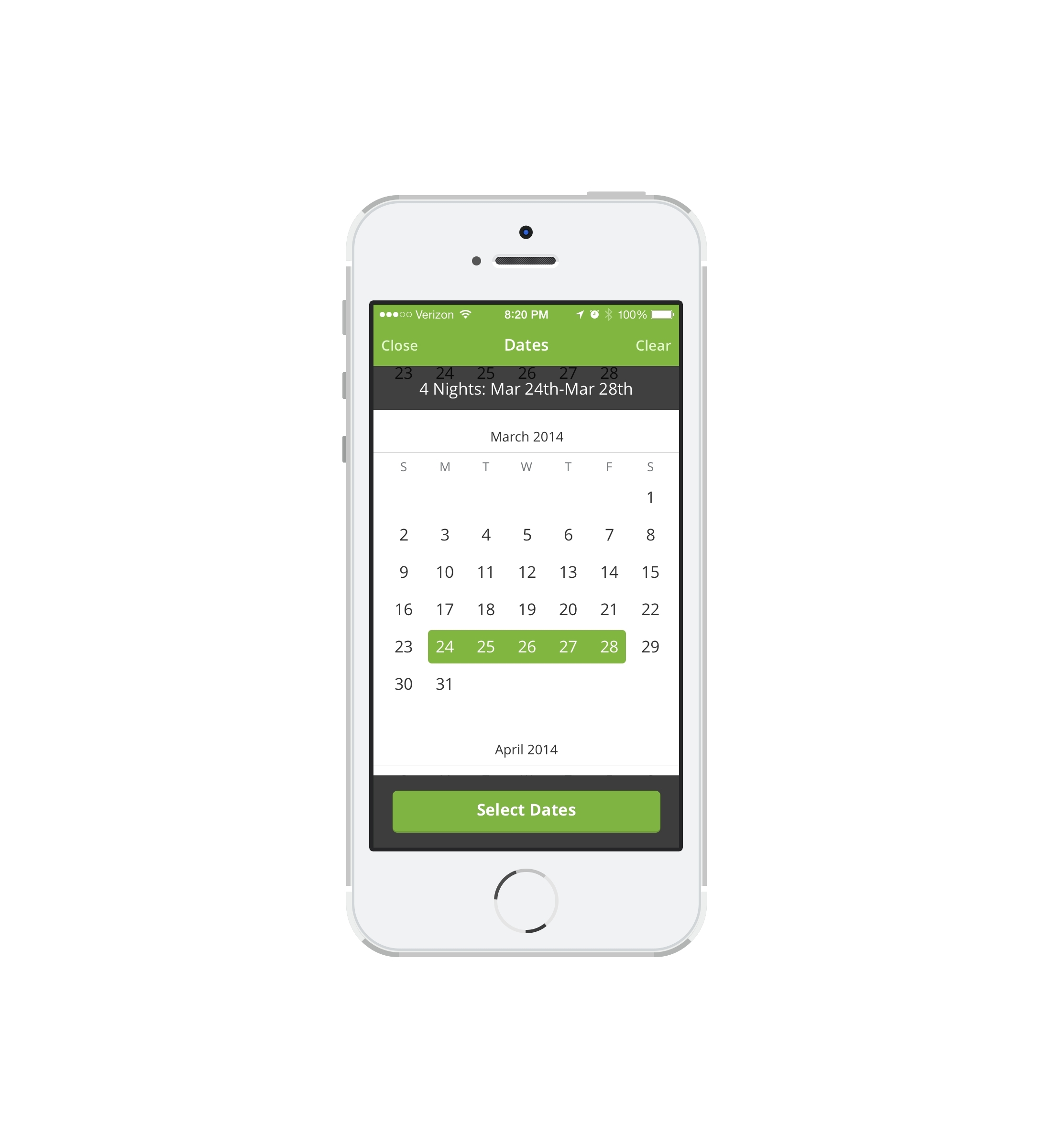Most hotels in the Groupon Getaways marketplace have a booking calendar, which eliminates the need for vouchers and lets consumers select and confirm the exact dates they want to travel based on price and room availability. (Photo: Business Wire)
