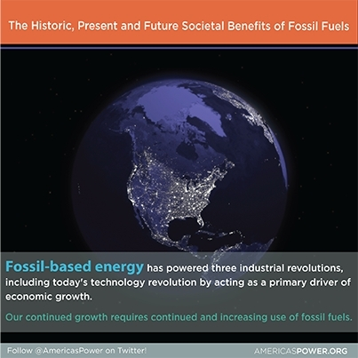It is without question or debate that our national and global societies have benefited from fossil fuels. (Graphic: Business Wire)