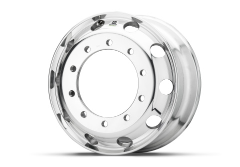 Alcoa has rolled out its most durable, easy-to-maintain commercial truck wheel, known as the Dura-Br ...