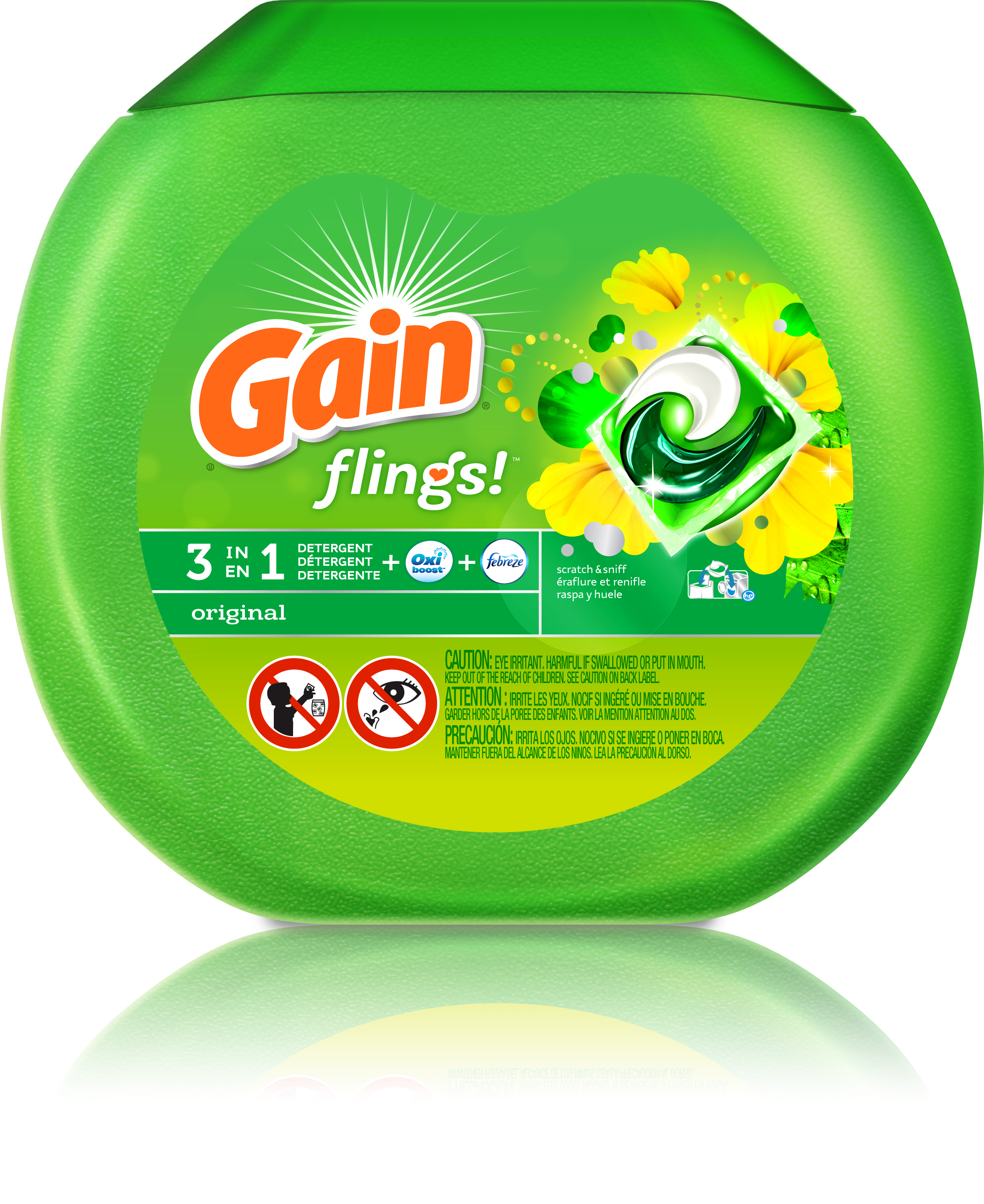 Gain Unveils New Single-Use Laundry Pac with Groundbreaking Study ...