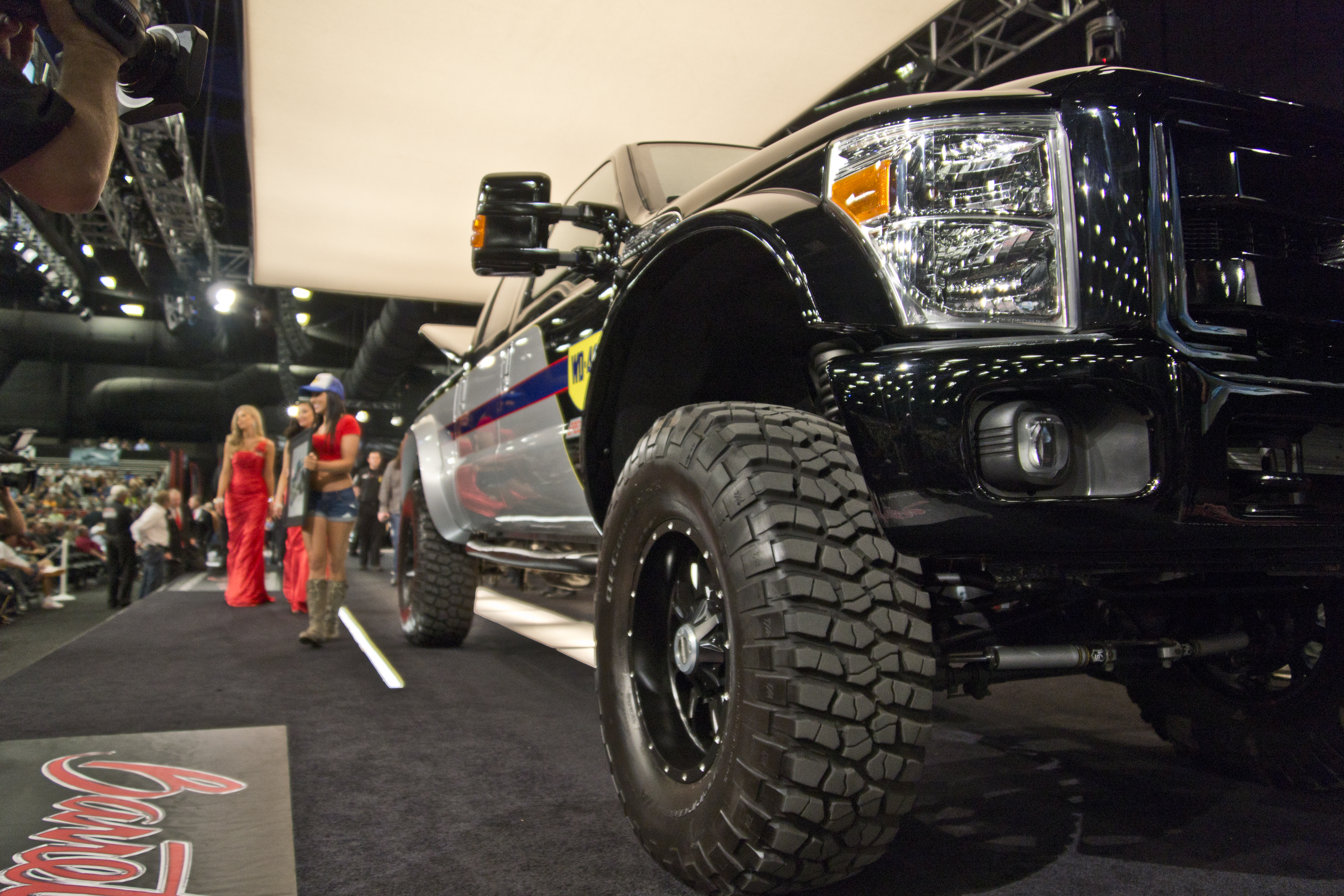 WD-40 Specialist/SEMA Cares Foose Ford F-350 on the block at Barrett-Jackson (Photo: Business Wire)