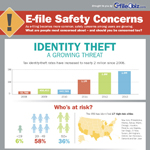 E-file Safety Concerns (Graphic: Business Wire