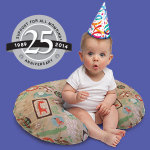 The Boppy Company celebrates 25 years of supporting moms and babies. (Photo: Business Wire)