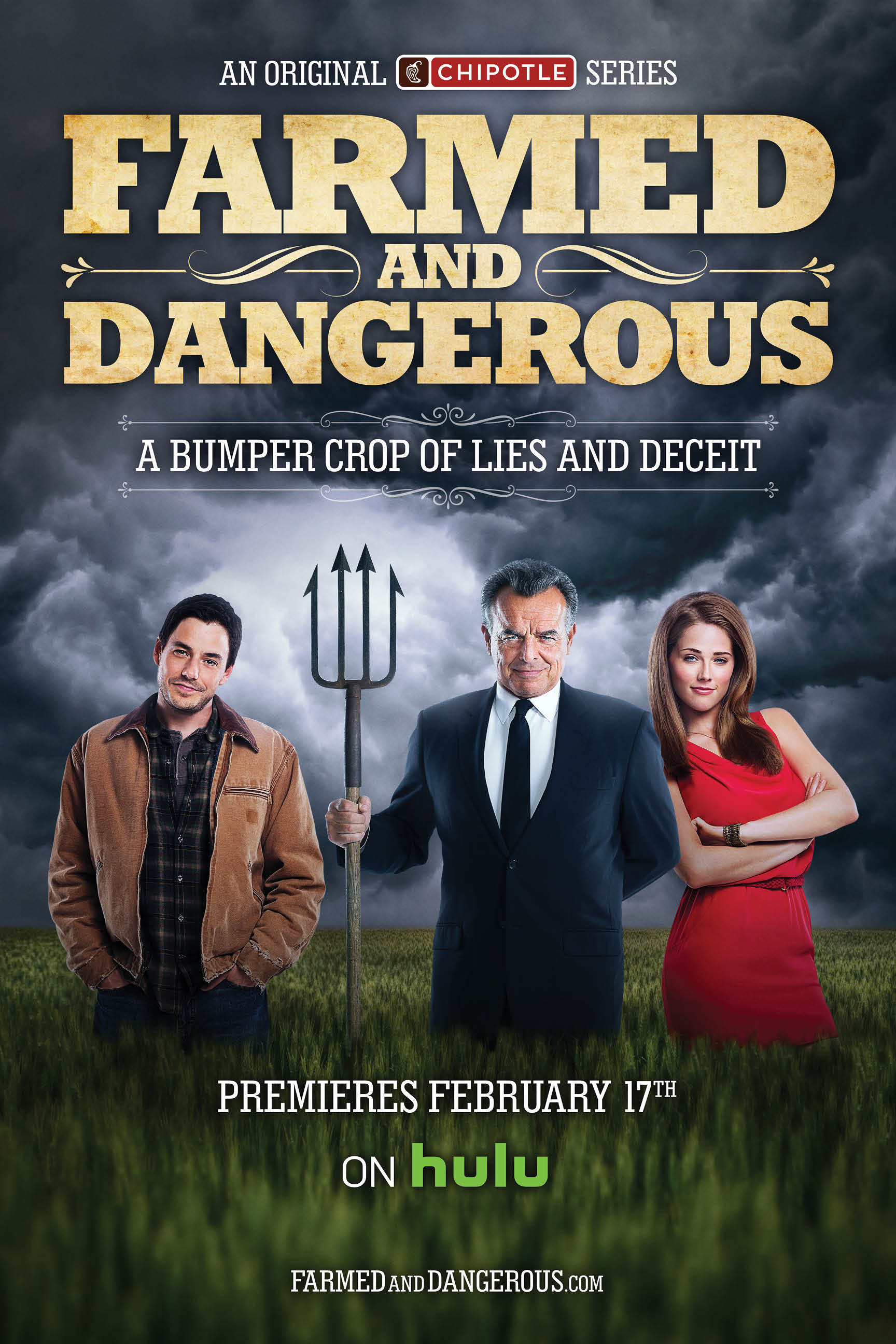"""""""Farmed and Dangerous,"""" a new original comedy series by Chipotle. (Photo: Business Wire)"""