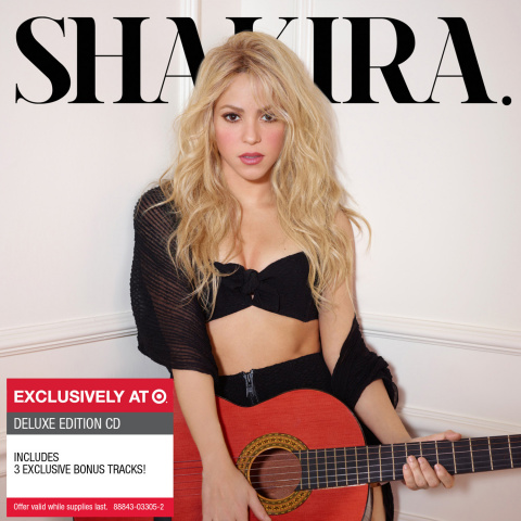 Cover artwork of the exclusive deluxe edition of 'Shakira' in partnership with Target (Photo: Business Wire)