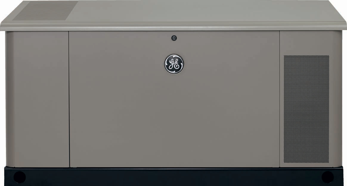 The new 30-kilowatt liquid cooled standby generator from GE Generator Systems is equipped with commercial-grade features and was designed with residential homes in mind. (Photo: Business Wire)
