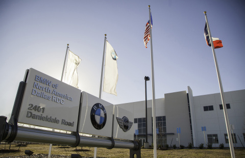 The BMW Dallas Regional Parts Distribution Center (RDC) in Lancaster, TX officially opened on January 27th, 2014. The fully-secured, LEED Silver certified, state-of-the art RDC will serve the Southern Region of the dealer network and will supply everything BMW dealers need to service their customers. (Photo: Business Wire)