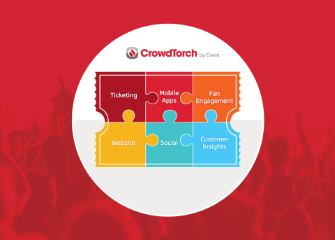 CrowdTorch's New Audience Management Platform. (Graphic: Business Wire)