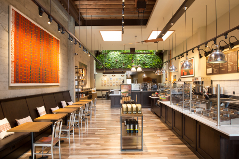 Our fresh, contemporary and distinctive new look is one of the first aspects of the store design that fans notice when they walk into the space. (Photo: Business Wire)