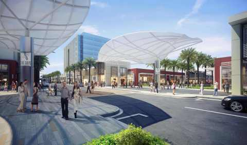 Streetscape at The Shops at Summerlin (Photo: Business Wire)