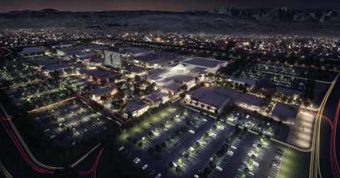 Night Aerial at The Shops at Summerlin (Photo: Business Wire)
