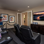Football fanatics can watch the Super Bowl from the comfort of home in a room like this one modeled at KB Home's La Mesa Meadows community in La Mesa, Calif. (Photo: Business Wire)