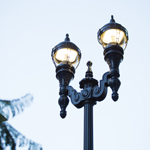 GE's customized LED street lights with wireless lighting controls are expected to save the city of San Diego upwards of $254,000 annually. (Photo: General Electric)
